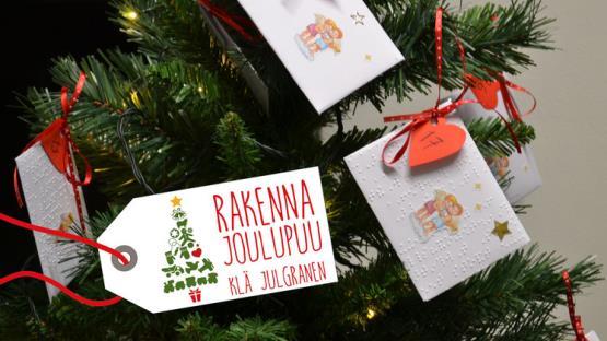 Rakenna joulupuu -keräys